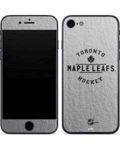 Toronto Maple Leafs Black Text iPhone SE Skin