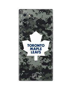 Toronto Maple Leafs Camo Galaxy Note 10 Plus Skin