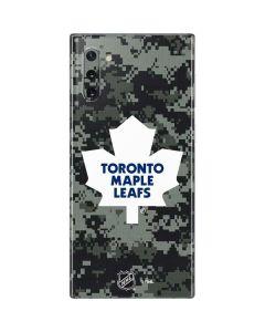Toronto Maple Leafs Camo Galaxy Note 10 Skin