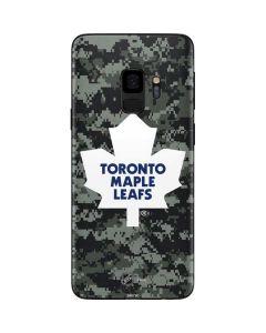 Toronto Maple Leafs Camo Galaxy S9 Skin