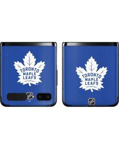 Toronto Maple Leafs Color Pop Galaxy Z Flip Skin