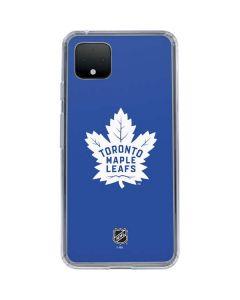 Toronto Maple Leafs Color Pop Google Pixel 4 XL Clear Case