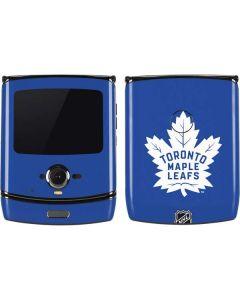 Toronto Maple Leafs Color Pop Motorola RAZR Skin