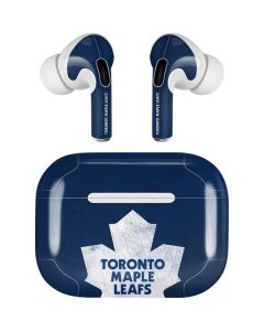 Toronto Maple Leafs Distressed Apple AirPods Pro Skin