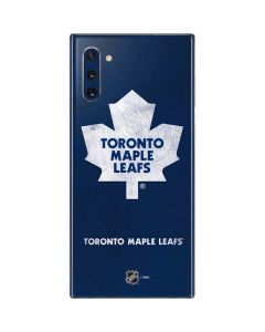 Toronto Maple Leafs Distressed Galaxy Note 10 Skin