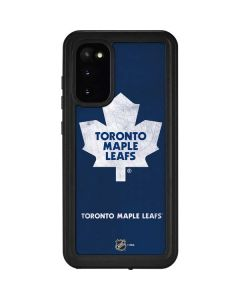 Toronto Maple Leafs Distressed Galaxy S20 Waterproof Case