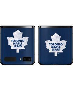 Toronto Maple Leafs Distressed Galaxy Z Flip Skin