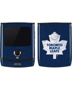 Toronto Maple Leafs Distressed Motorola RAZR Skin