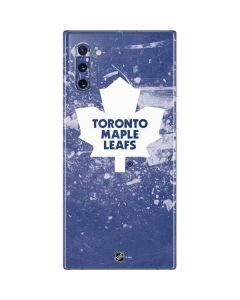 Toronto Maple Leafs Frozen Galaxy Note 10 Skin