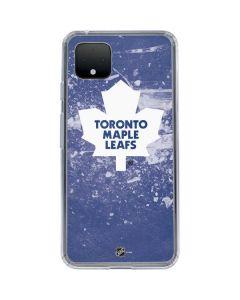 Toronto Maple Leafs Frozen Google Pixel 4 XL Clear Case