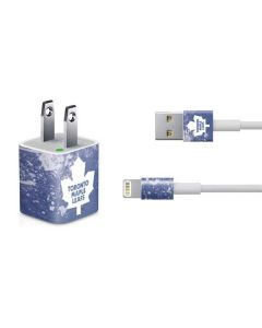 Toronto Maple Leafs Frozen iPhone Charger (5W USB) Skin