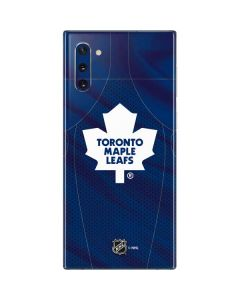 Toronto Maple Leafs Home Jersey Galaxy Note 10 Skin