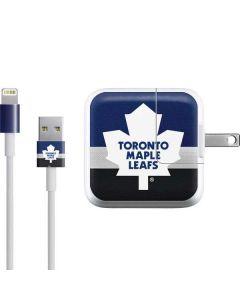 Toronto Maple Leafs Jersey iPad Charger (10W USB) Skin