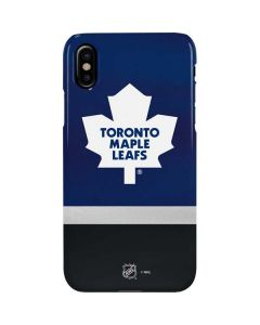 Toronto Maple Leafs Jersey iPhone XS Max Lite Case