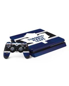 Toronto Maple Leafs Jersey PS4 Slim Bundle Skin