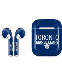 Toronto Maple Leafs Lineup Apple AirPods Skin