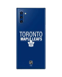 Toronto Maple Leafs Lineup Galaxy Note 10 Skin