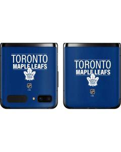 Toronto Maple Leafs Lineup Galaxy Z Flip Skin