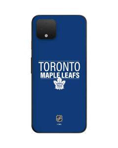 Toronto Maple Leafs Lineup Google Pixel 4 Skin