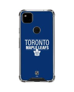 Toronto Maple Leafs Lineup Google Pixel 4a Clear Case