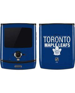 Toronto Maple Leafs Lineup Motorola RAZR Skin