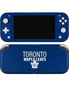 Toronto Maple Leafs Lineup Nintendo Switch Lite Skin