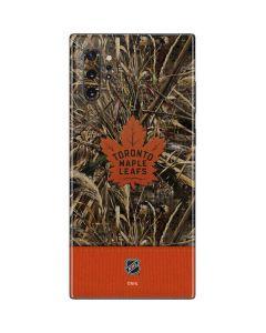 Toronto Maple Leafs Realtree Max-5 Camo Galaxy Note 10 Plus Skin