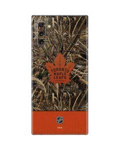 Toronto Maple Leafs Realtree Max-5 Camo Galaxy Note 10 Skin