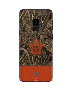 Toronto Maple Leafs Realtree Max-5 Camo Galaxy S9 Skin