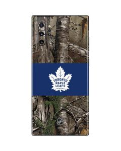 Toronto Maple Leafs Realtree Xtra Camo Galaxy Note 10 Plus Skin