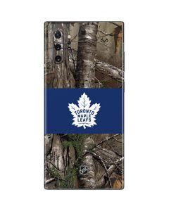 Toronto Maple Leafs Realtree Xtra Camo Galaxy Note 10 Plus Skin