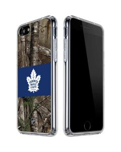 Toronto Maple Leafs Realtree Xtra Camo iPhone SE Clear Case