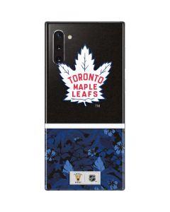 Toronto Maple Leafs Retro Tropical Print Galaxy Note 10 Skin