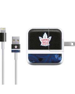 Toronto Maple Leafs Retro Tropical Print iPad Charger (10W USB) Skin