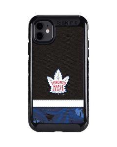 Toronto Maple Leafs Retro Tropical Print iPhone 11 Cargo Case