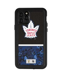 Toronto Maple Leafs Retro Tropical Print iPhone 11 Pro Waterproof Case