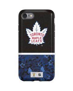 Toronto Maple Leafs Retro Tropical Print iPhone SE Pro Case