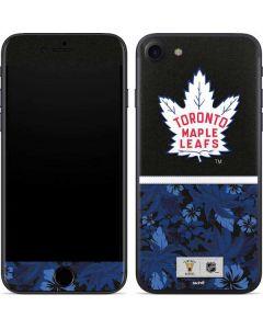 Toronto Maple Leafs Retro Tropical Print iPhone SE Skin