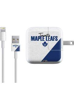 Toronto Maple Leafs Script iPad Charger (10W USB) Skin