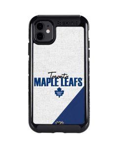 Toronto Maple Leafs Script iPhone 11 Cargo Case