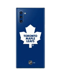 Toronto Maple Leafs Solid Background Galaxy Note 10 Skin