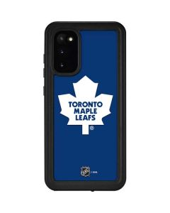Toronto Maple Leafs Solid Background Galaxy S20 Waterproof Case
