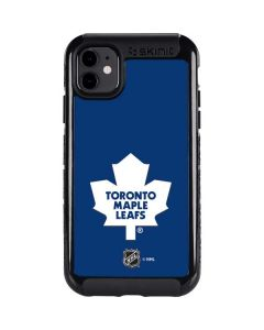 Toronto Maple Leafs Solid Background iPhone 11 Cargo Case