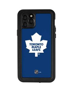 Toronto Maple Leafs Solid Background iPhone 11 Pro Waterproof Case