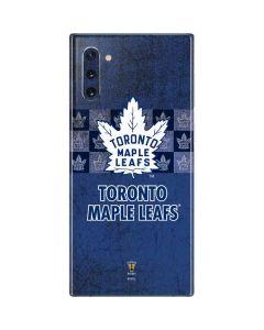 Toronto Maple Leafs Vintage Galaxy Note 10 Skin
