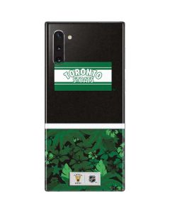 Toronto St. Pats Retro Tropical Print Galaxy Note 10 Skin