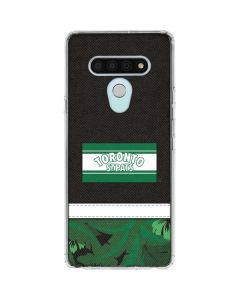 Toronto St. Pats Retro Tropical Print LG Stylo 6 Clear Case