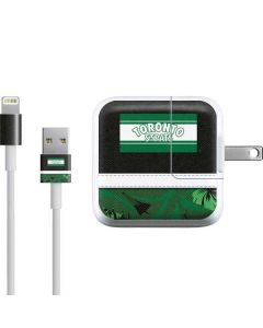 Toronto St. Pats Retro Tropical Print iPad Charger (10W USB) Skin