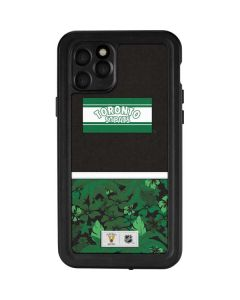 Toronto St. Pats Retro Tropical Print iPhone 11 Pro Waterproof Case
