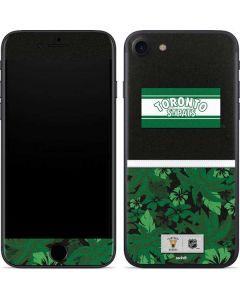 Toronto St. Pats Retro Tropical Print iPhone SE Skin